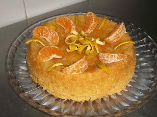 Torta de mandarinas