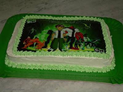imagem de bolo confeitado com gordura vegetal
