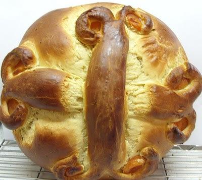 Pão de Natal grego