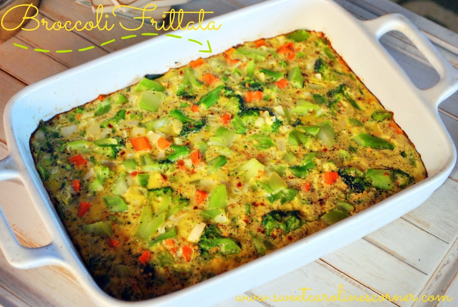 Broccoli Frittata (Fritada de Brócolis)