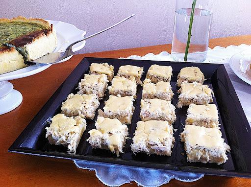 Torta cremosa de frango aos 4 queijos