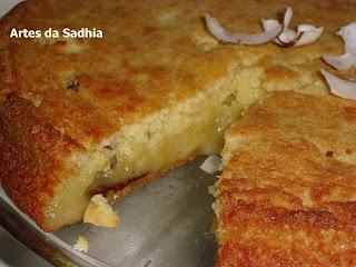 bolo feito so com farinha de mandioca