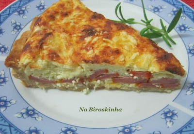 quiche de queijo do restaurante viena