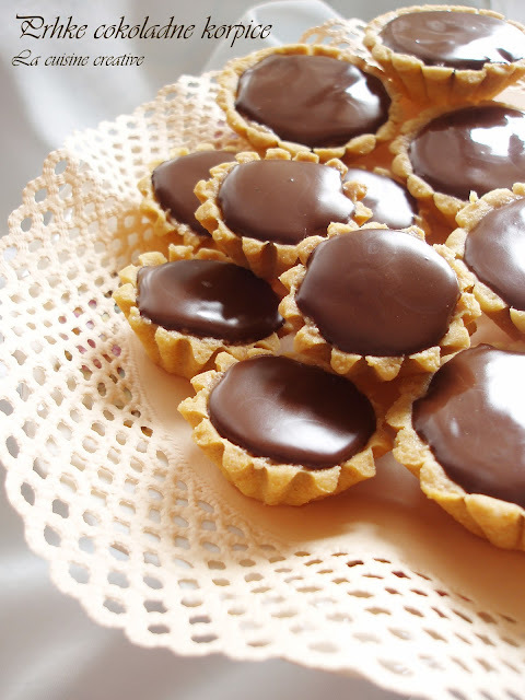 Prhke cokoladne korpice