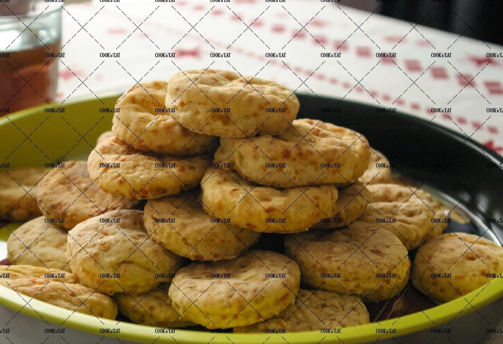 Recette de biscuits américain au fromage