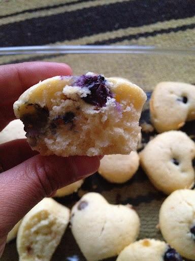 Muffins de Arandanos: ideal para el verano