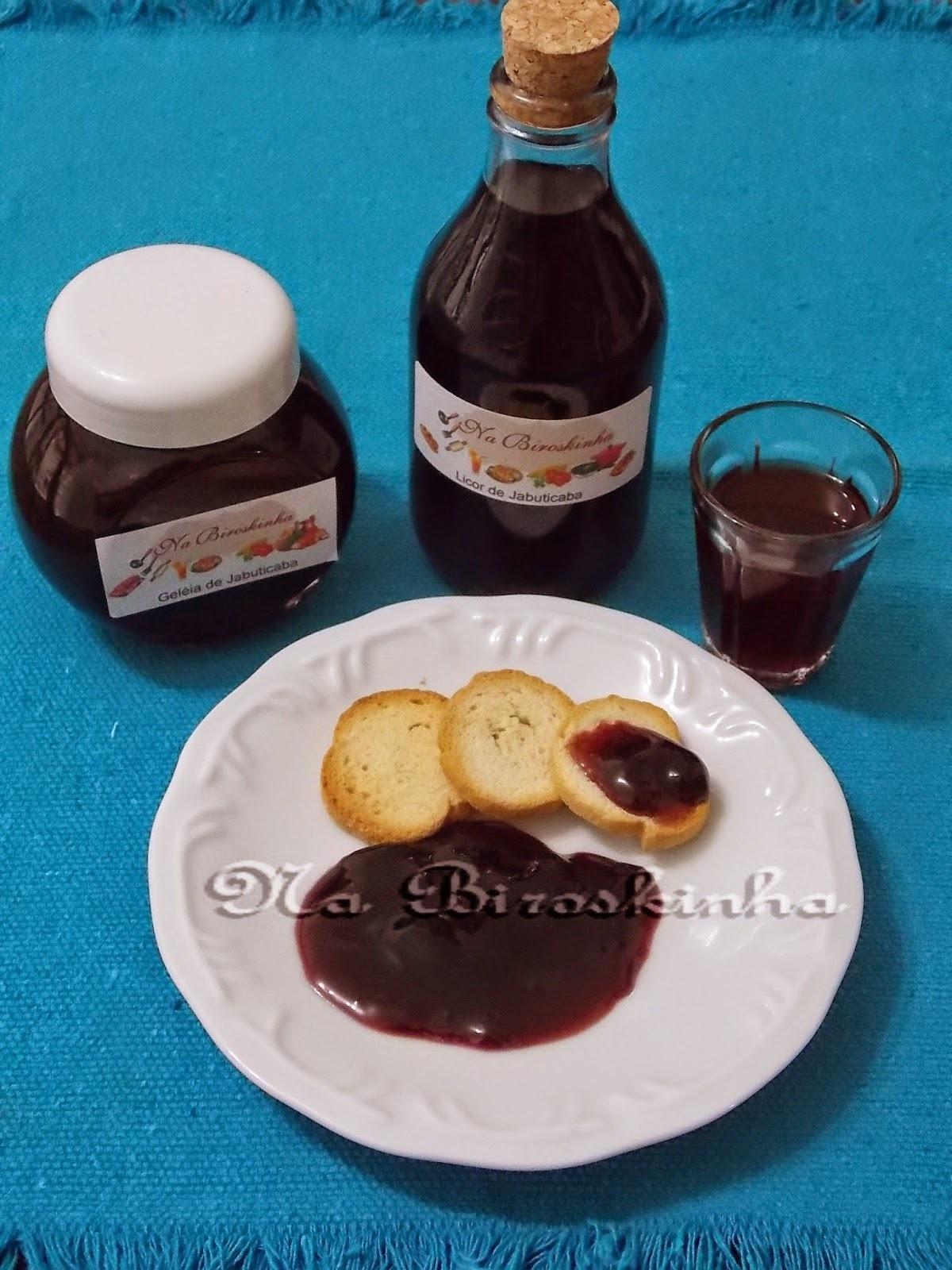 Licor e Geleia de Jabuticaba