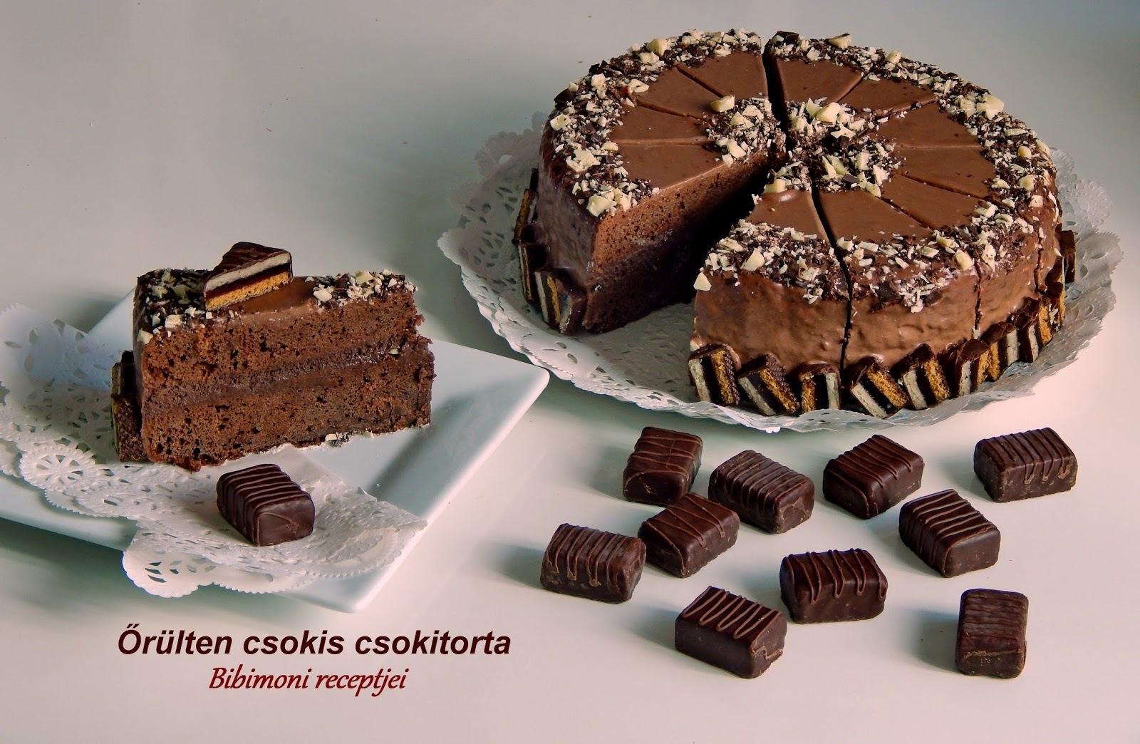 Őrülten csokis csokitorta