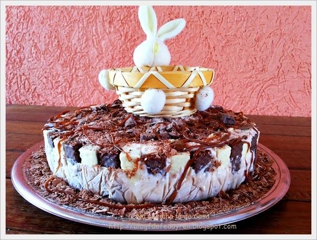 Torta de Sorvete com Brigadeiro e Bis®