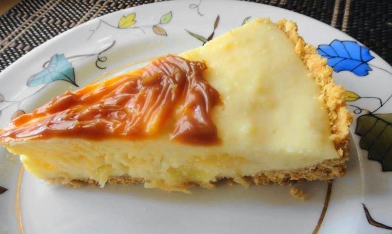 Torta chiffon de abacaxi