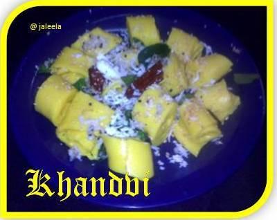 Khandvi  Gujarati Farsan - SNC Challenge - 7