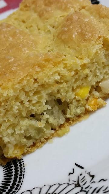 Torta de Legumes das 3 Farinhas