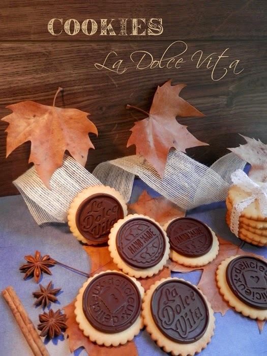COOKIES DOLCE VITA & CHOCO BISCUITS  #para Silikomart
