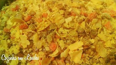farofa de lentilha simples