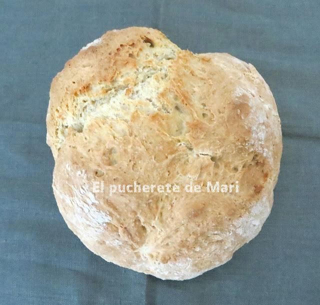IRISH SODA BREAD (PAN DE SODA IRLANDES)