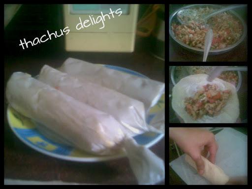 Homemade Shawarma .......