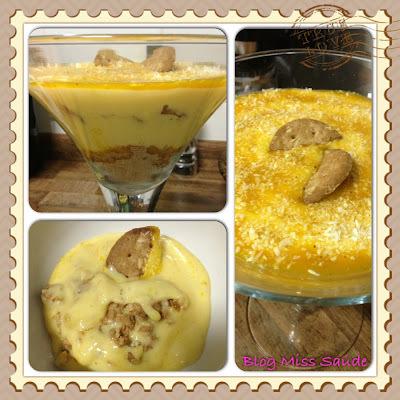 Taça gelada de Maracujá e Coco Diet