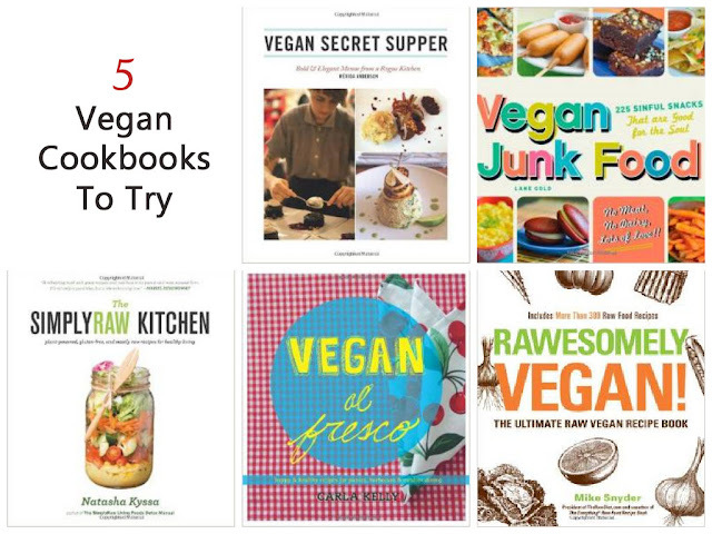5 Vegan Cookbooks To Try