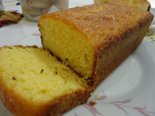 bolo de fuba com oleo de soja