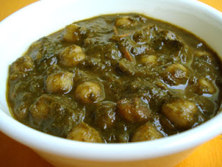 Palak Chana Curry