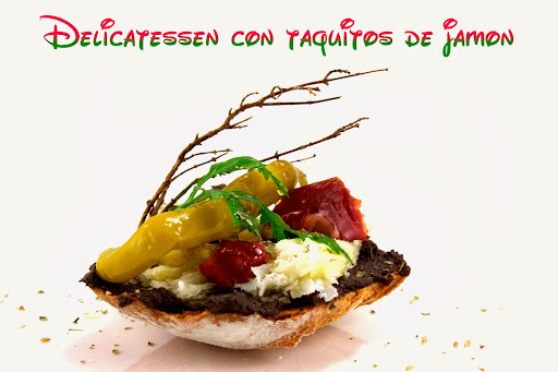 Tapas Originales | Delicatessen con Taquitos de Jamón