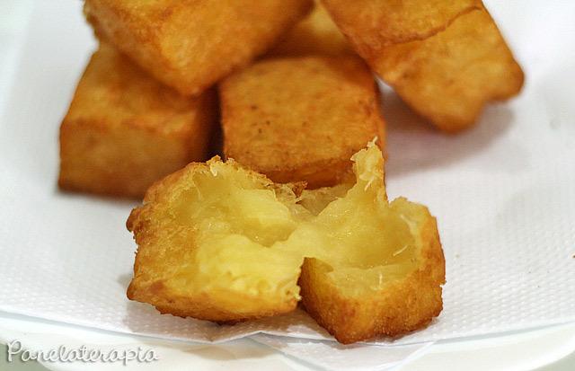 como fazer mandioca congelada para fritar