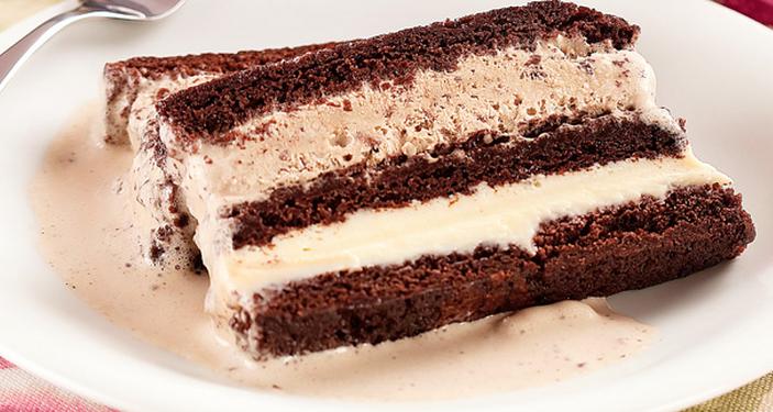 pave de sonho de valsa com sorvete