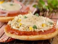 Pizza com Creme e Frango