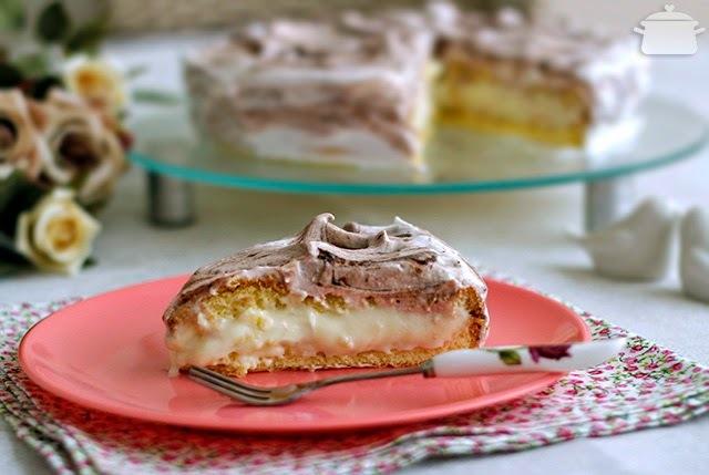 receita de bolo mesclado recheado tudo gostoso