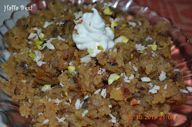 Bread Pudding (Halwa)