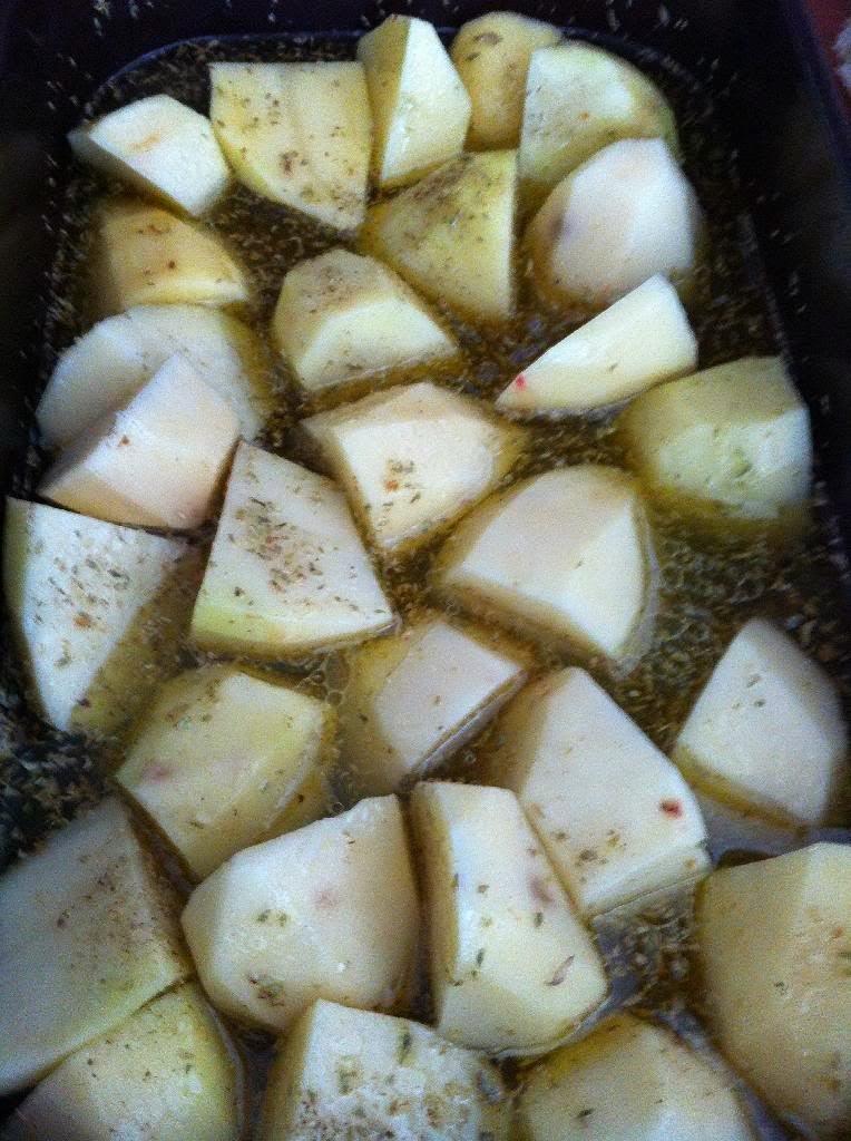 Grčki pečeni krumpir u limunu