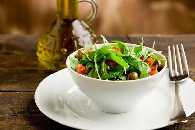 molho para salada de acelga com manga