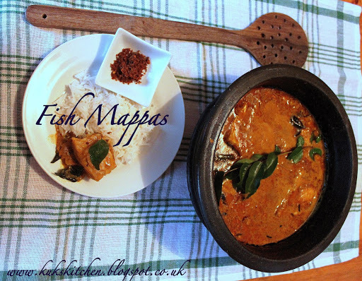 Fish mappas   |  Keralan coastal fish curry in coconut milk  |  Kukskitchen