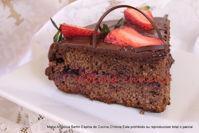 TORTA CHOCOLATE APTA DIABETICOS