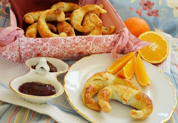Nutelové croissanty