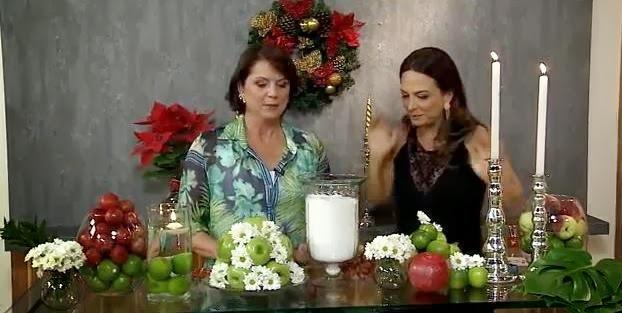 Saiba como fazer um lindo arranjo com flores e frutas!