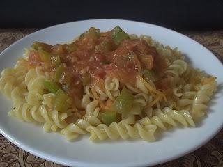 sopa de macarrão simples