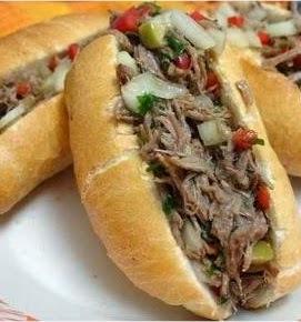Carne Louca - lagarto Desfiado Para Lanche #Quinta-Feira