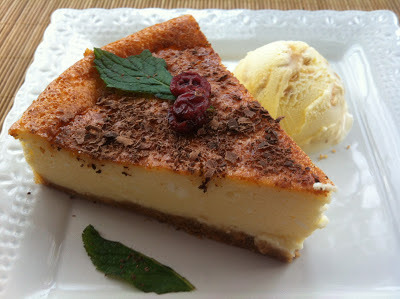 Tarta De Queso Neoyorquina Genuina (New York Cheesecake)