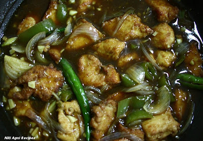Indo-Chinese Chilly Chicken