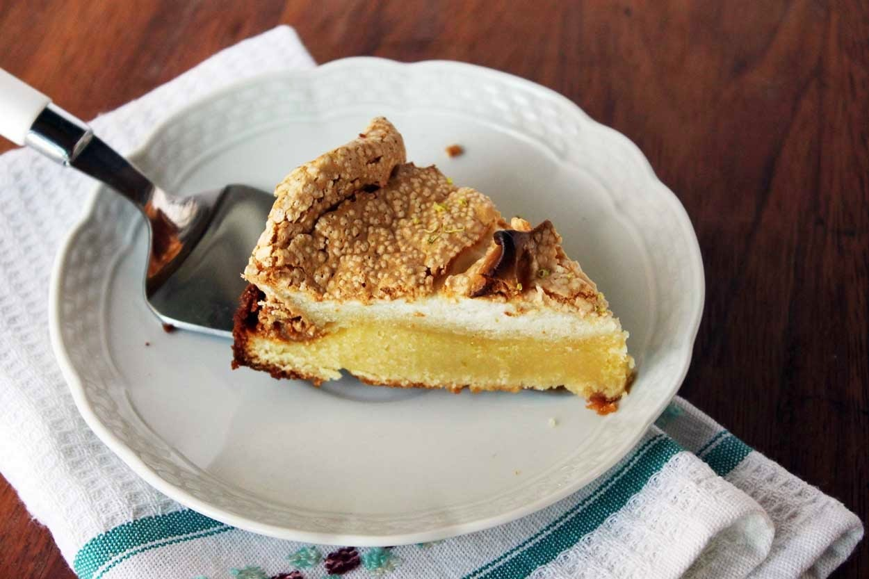 Torta de Limón Merengada