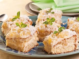 de liquidificador bolo gelado de abacaxi e coco