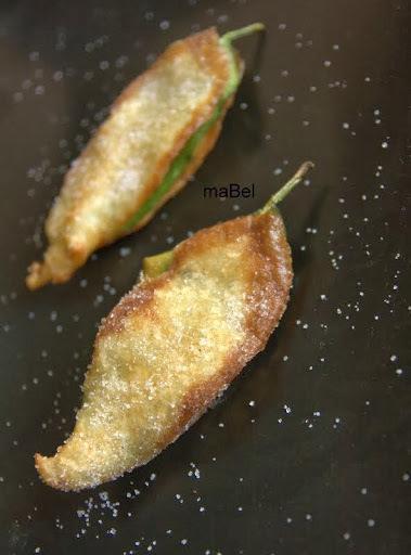Paparajotes - Hojas de limon fritas - Follas de limon