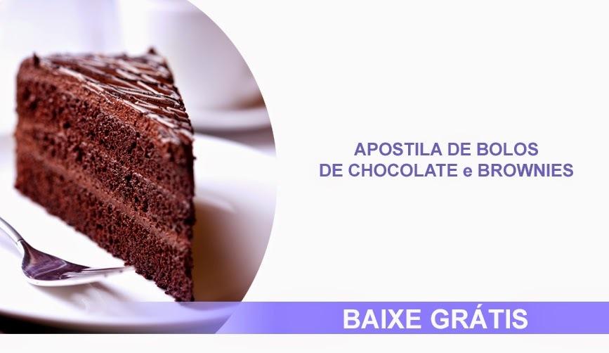 Apostila de Bolos de Chocolate e Brownies