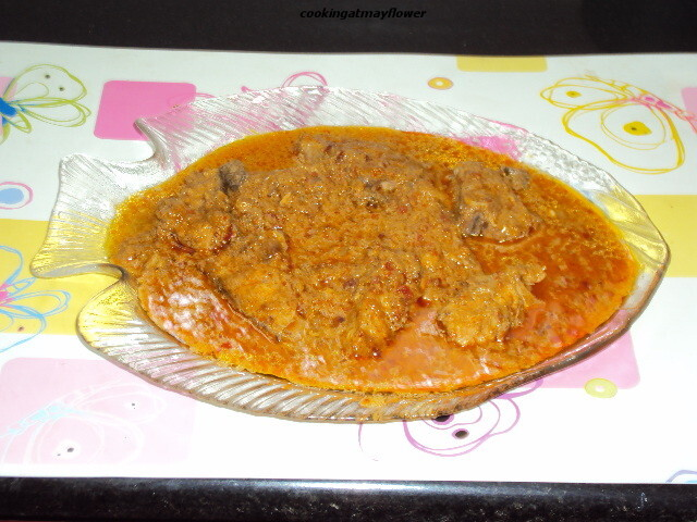 fish curry for chapathi