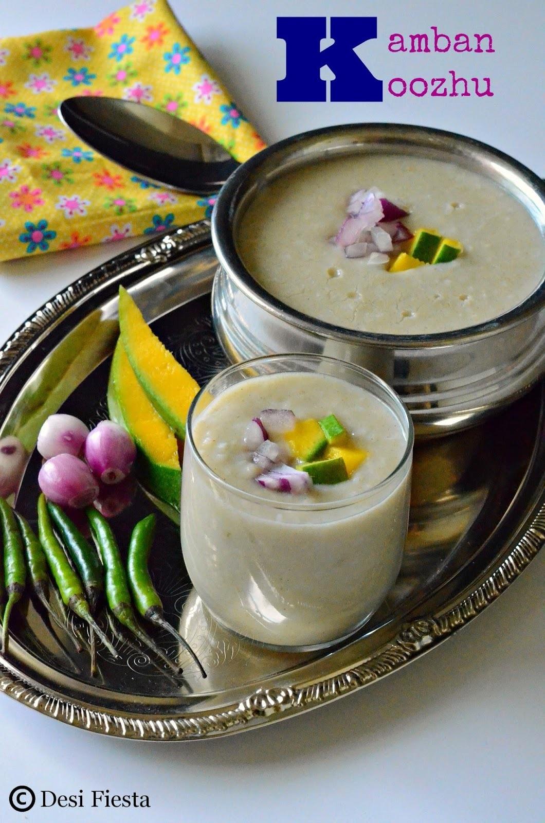 Kamban Koozhu| Bajra Porridge | Pearl millet/ Bajra Recipes | Kambu Koozhu