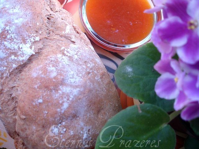 Pão integral de iogurte e mel...para o World Bread Day
