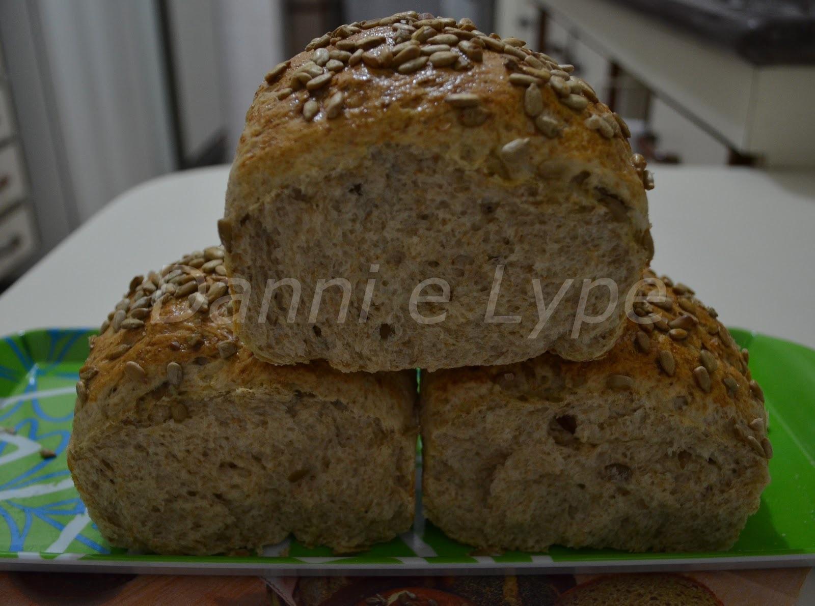 Pão Integral com Semente de Girassol
