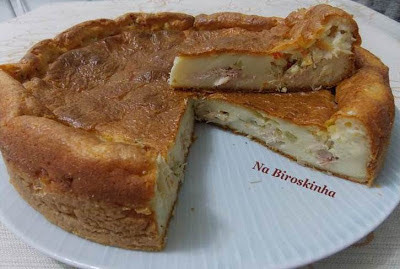 Torta de Frango Defumado