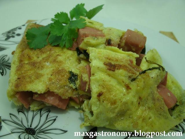 Receita No. 127 - Omelete de Mortadela